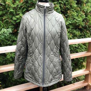 Eddie Bauer light weight puffer jacket